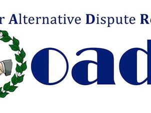 OADR Urges stronger Gov't-Private Partnership to settle disputes, build peace