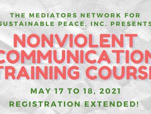 NON VIOLENT COMMUNICATION TRAINING COURSE