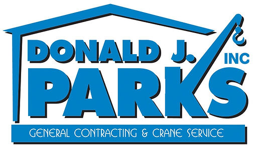Donald J. Parks General Contracting and Crane Service Logo