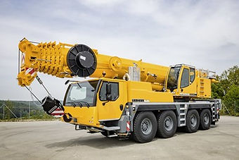 Donald J. Parks Inc. 110 Ton Crane Service - Leibherr LTM 1090 for Rent
