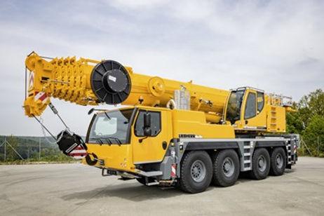 Donald J Parks, Inc. 110 Ton Crane Leibherr  LTM 1090 for Crane Service