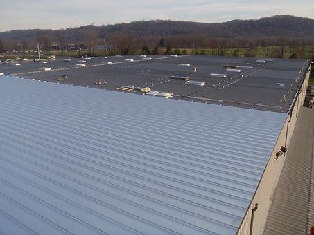 Retrofit Roof - Metal Roof Example, Archive Systems, Washington, NJ