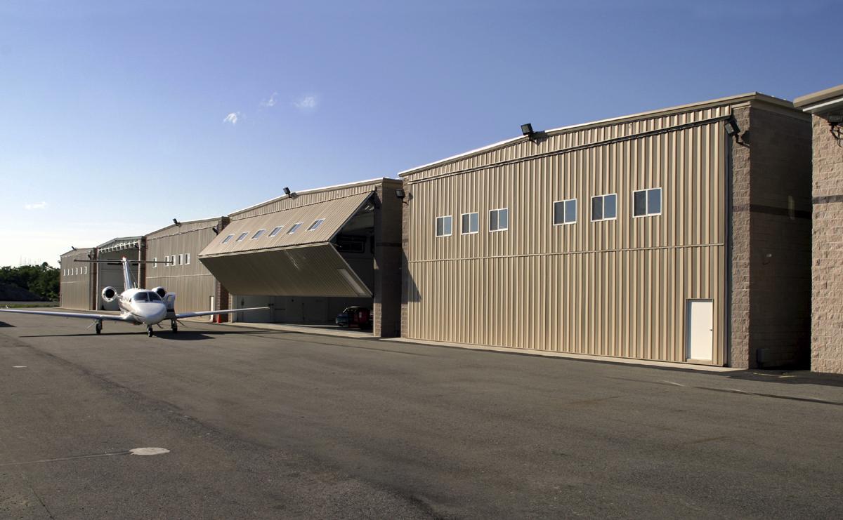 Morristown Airport Hanger Building