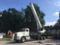 Donald J. Parks Inc. 40 Ton Boom Truck for rent