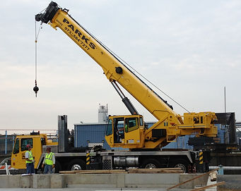 Donald J. Parks Inc. 60 Ton Crane Service - Grove  TMS 700 for rent