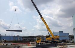 60 Ton Crane Service - w/ Steel
