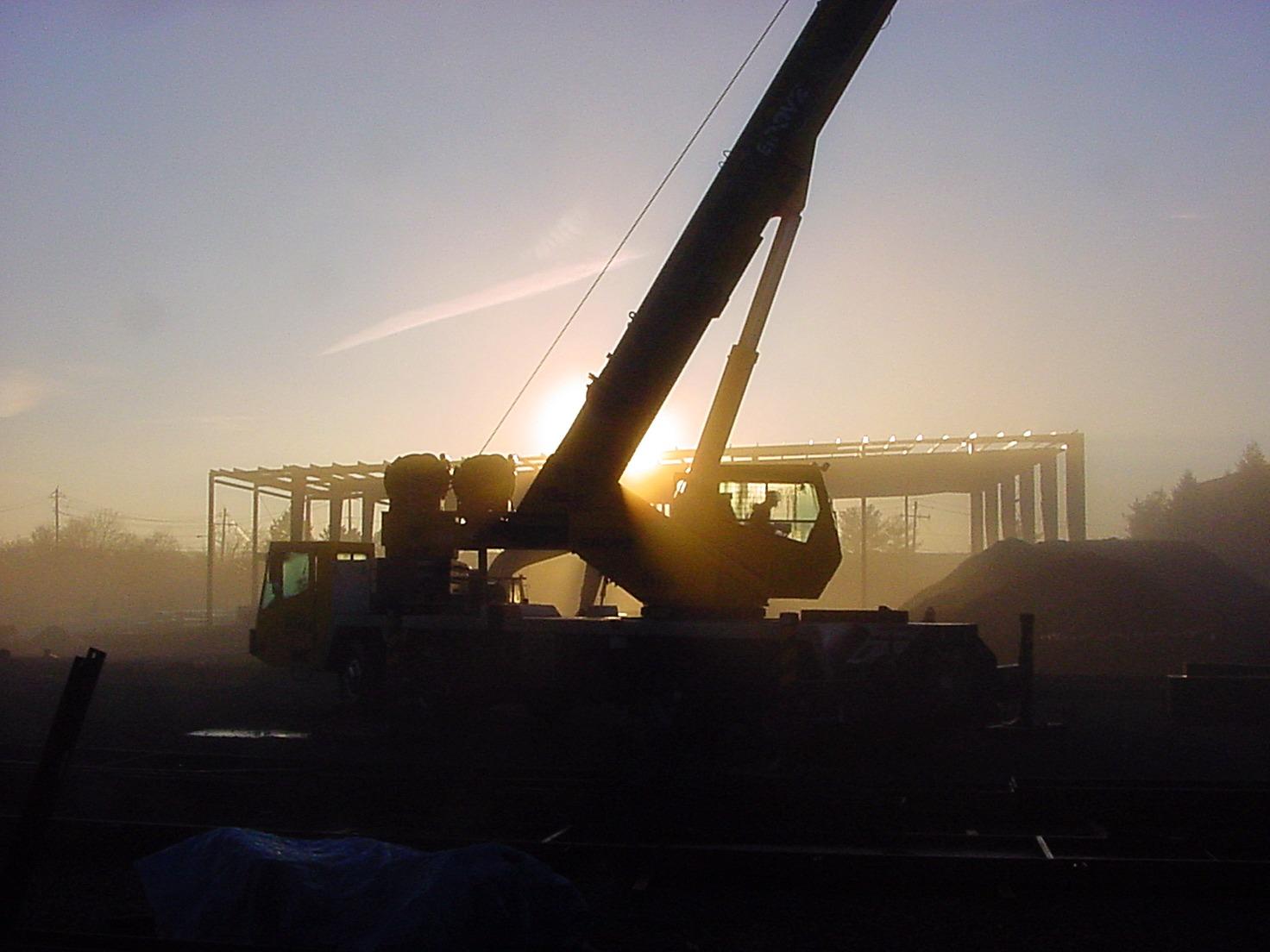 60 Ton Crane Service for Rental