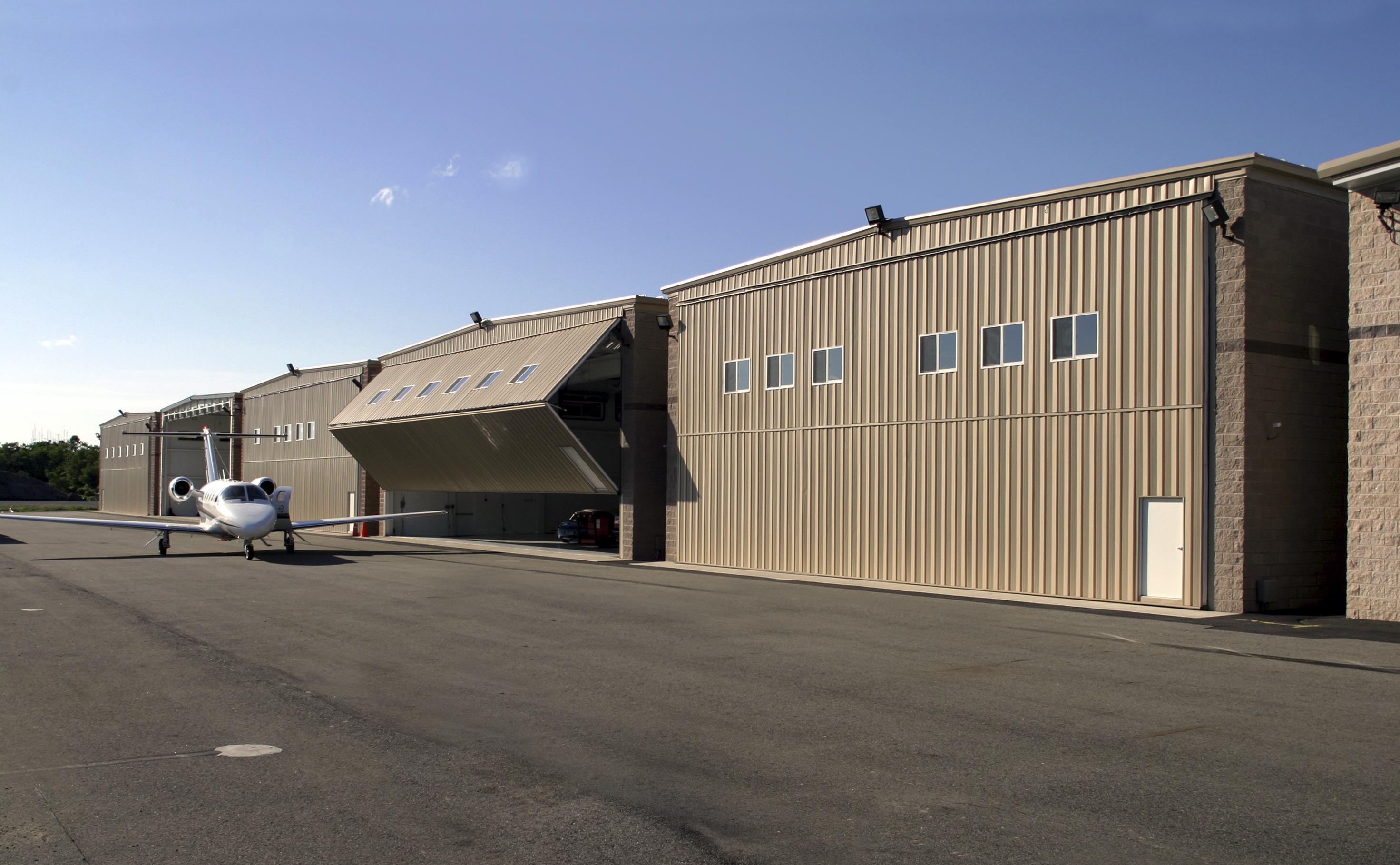 Morristown Airport Hangar Building
