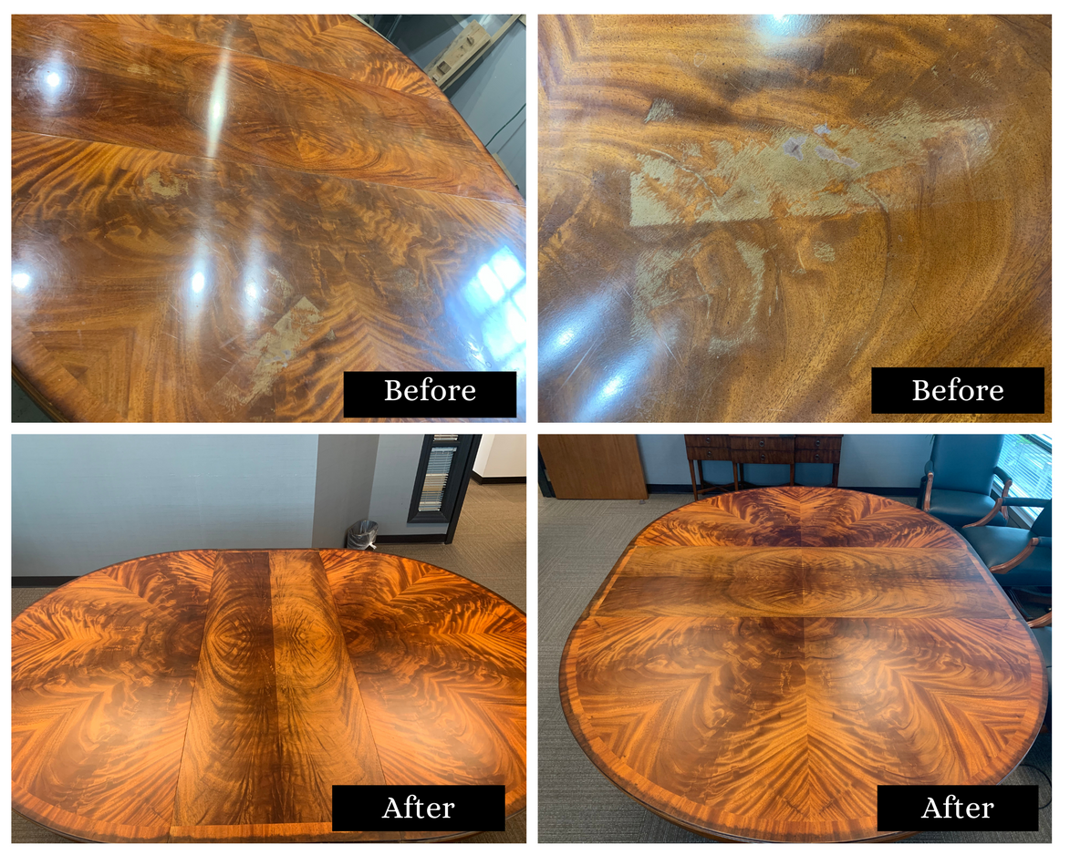 Conference Table Refinish