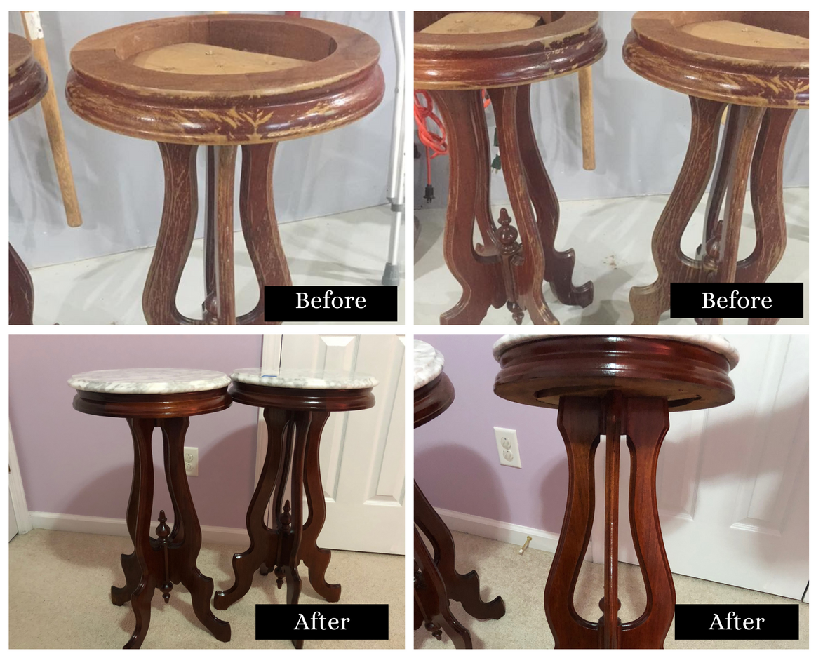 End Table Refinish