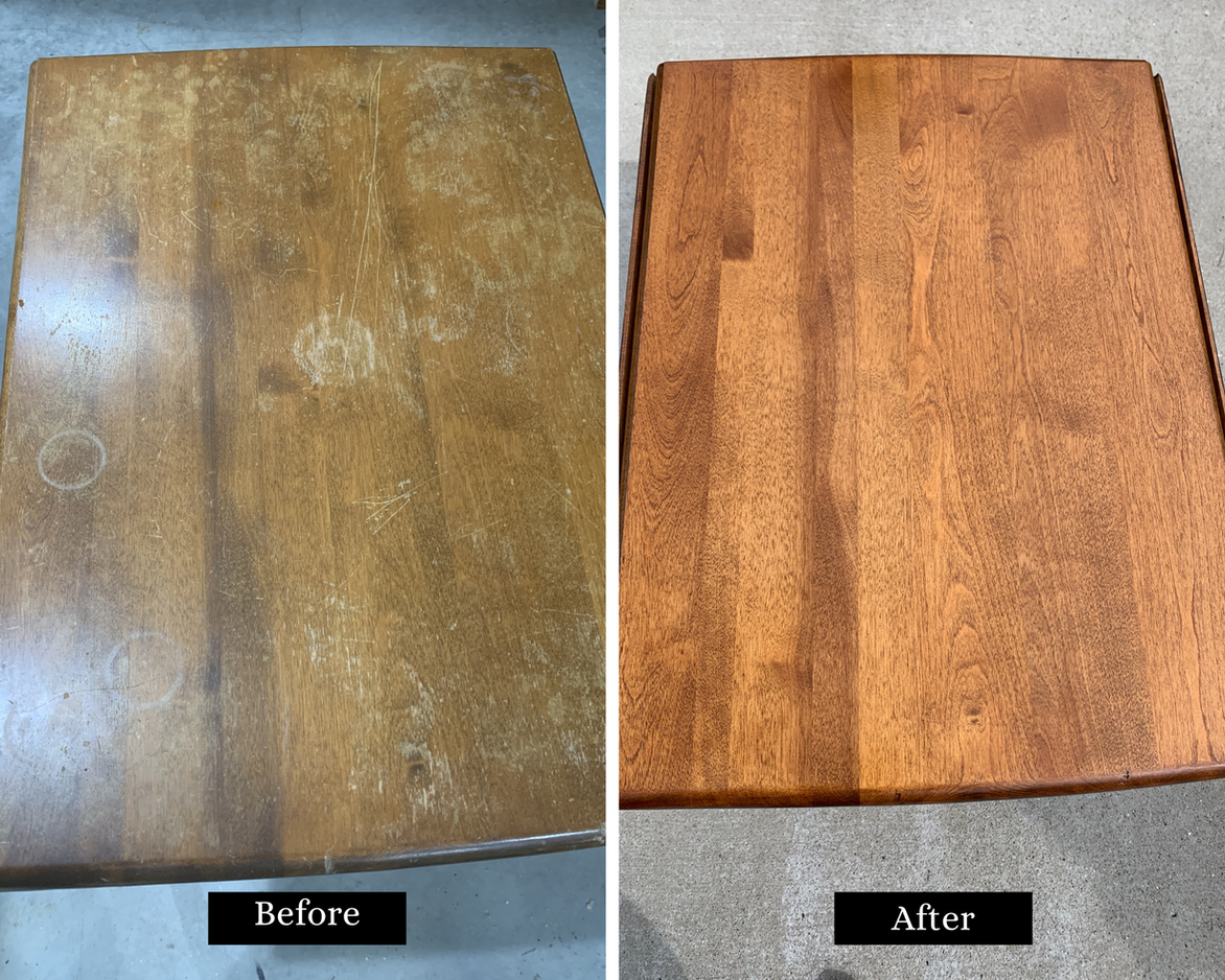 Side Table Refinish