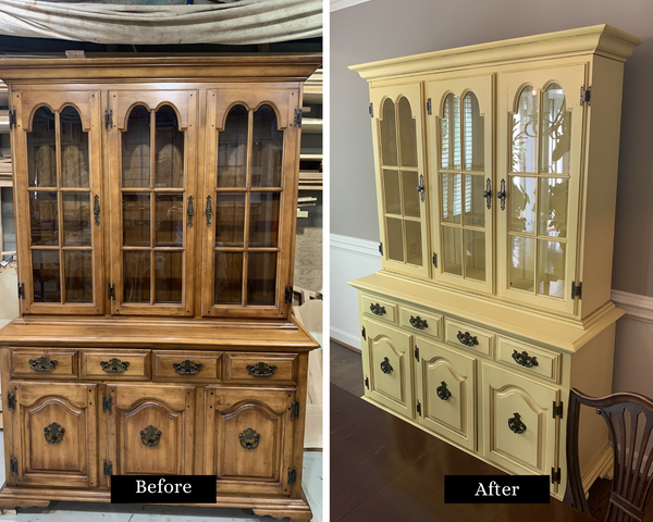 Hutch Paint- Before and After