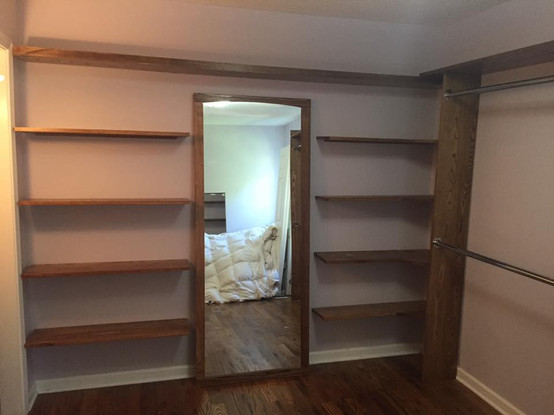 Bedroom to Closet Makeover