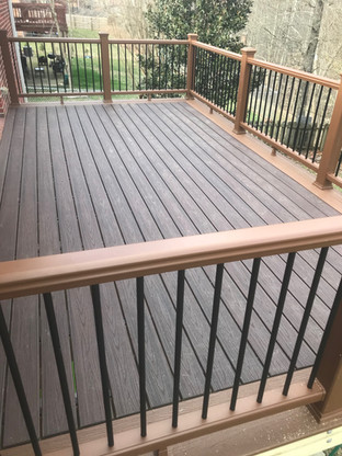 Composite Deck Build