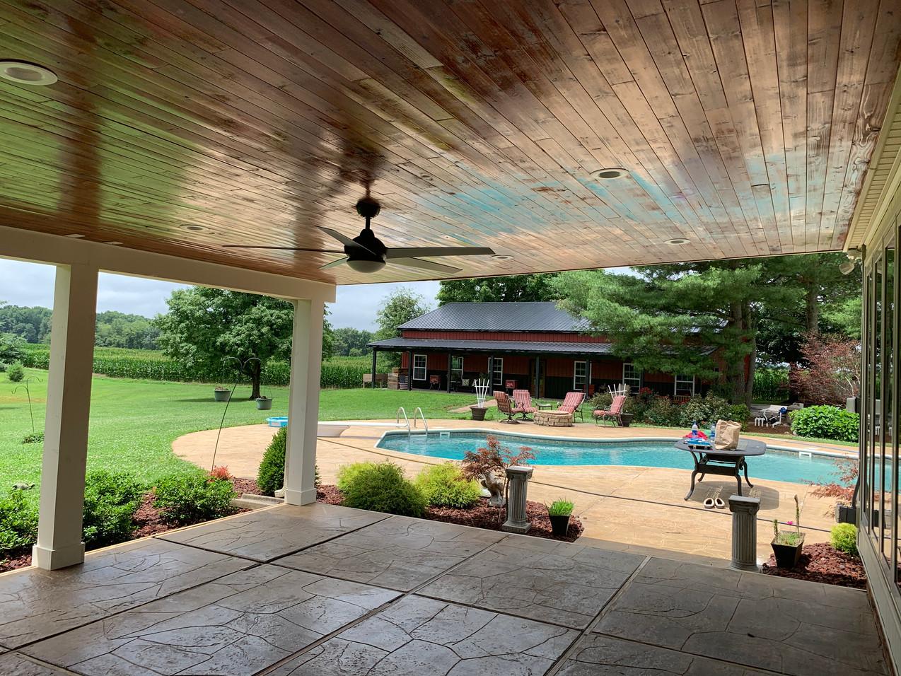 Outdoor Patio Build