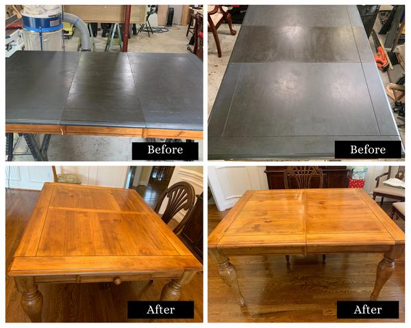 Table Top Refinsh + Epoxy