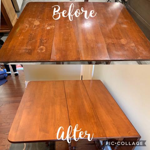 Drop Leaf Table Refinish