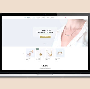 Schmuck-Site Web Design, online-shop