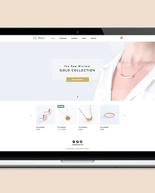 site Design Bijoux
