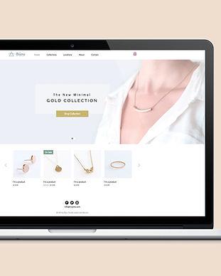 Jóias Site Design Web