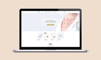 Smycken Site Web Design