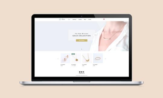 Smykker nettstedet Web Design