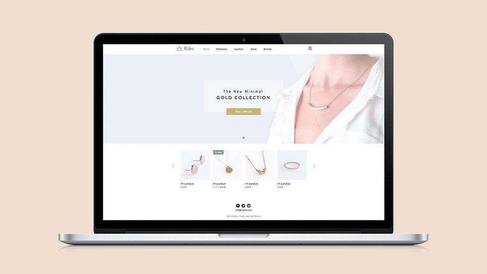 15 Page Website Design