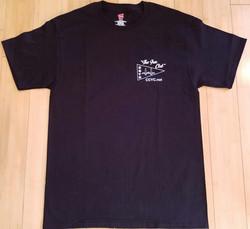 CCYC Mens black T  (front)