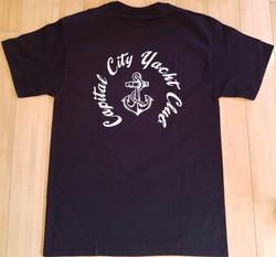 CCYC Mens black T  (back)