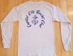 CCYC Mens long sleeve grey (back)