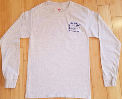 CCYC Mens long sleeve grey (front)