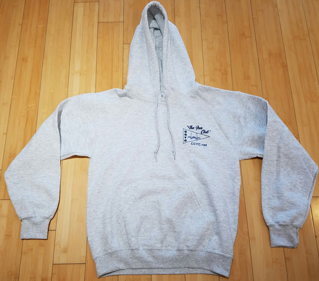 CCYC Pullover Sweatshirt grey (front)