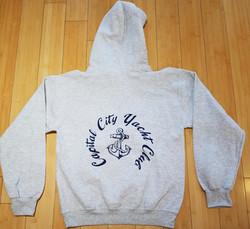 CCYC Pullover Sweatshirt grey (back)