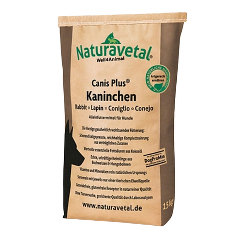 Naturavetal Canis Plus Rabbit - Cold Pressed Dry Biscuits