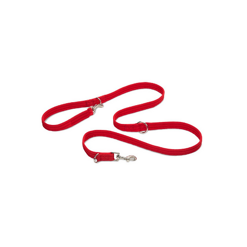 Smooth Webbing Double Ended Training Lead