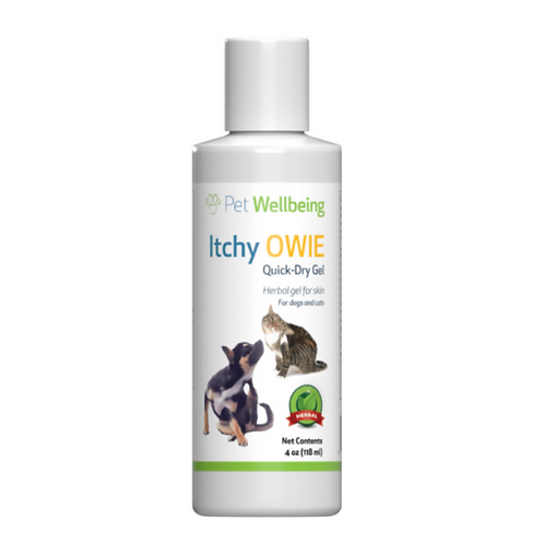 Pet Wellbeing Itchy Owie Quick Dry Gel - 188ml