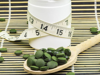 Chlorella & Spirulina for Weight Loss & Dieting