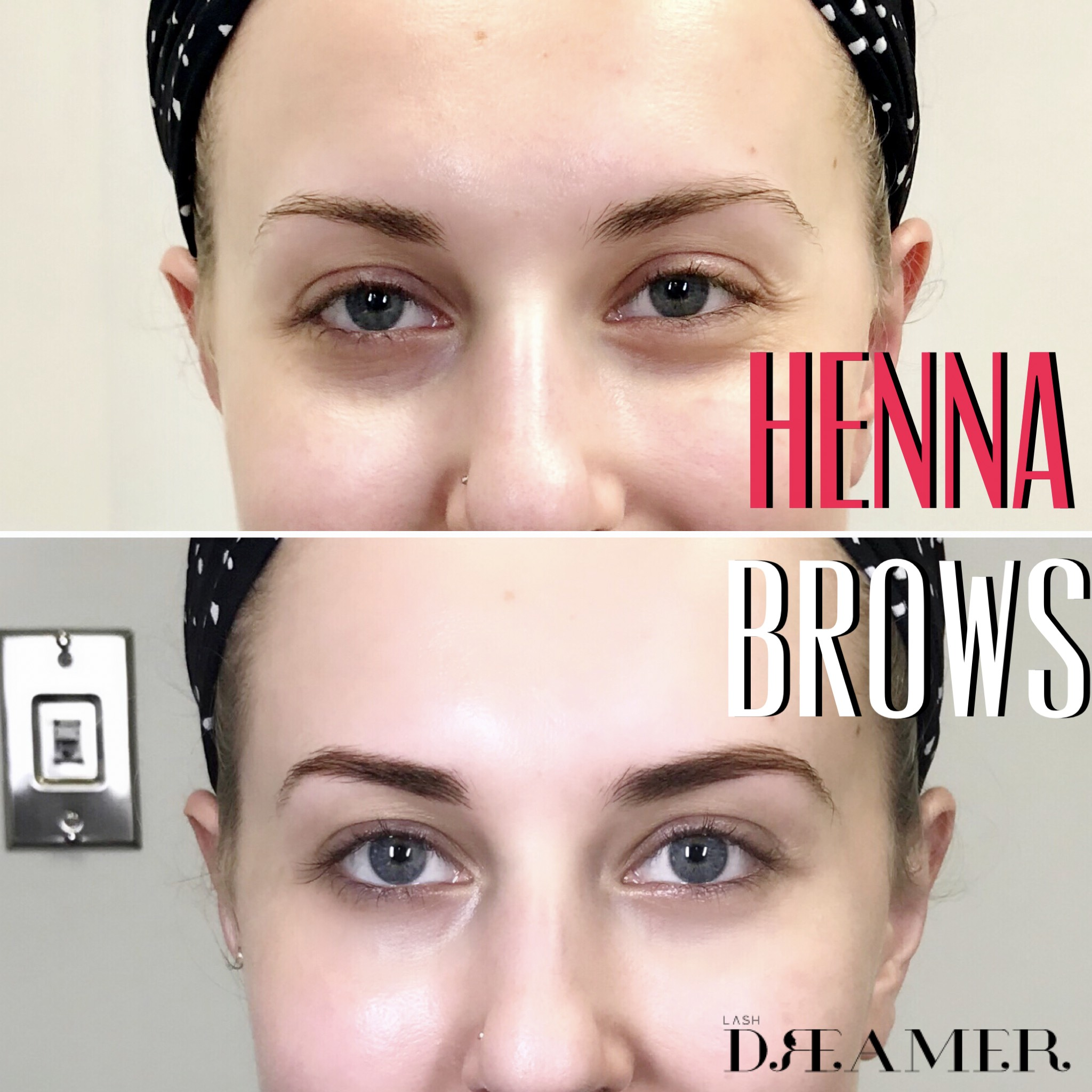 Henna Brows Effortlessly Archive Fuller Brows Look Naturally