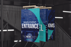 mockup-featuring-four-exhibition-posters