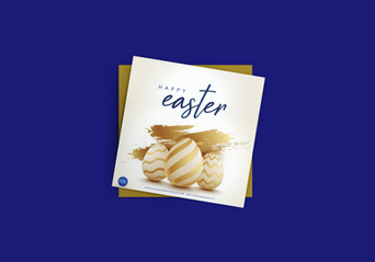 Easter Mock -flyer-mockup-featuring-a-cu