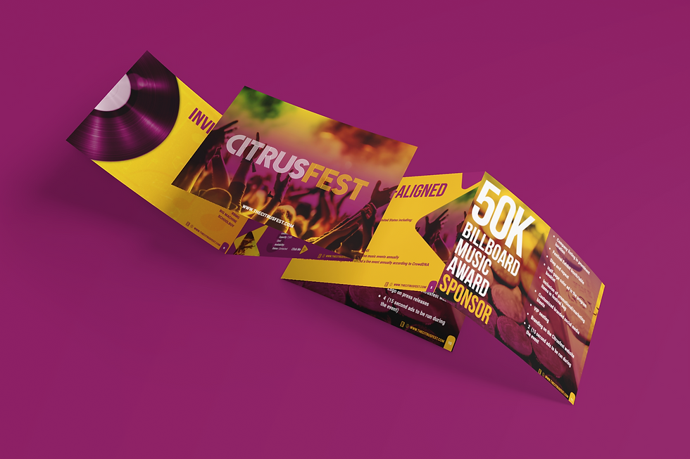 ct mockup-featuring-two-trifold-brochure