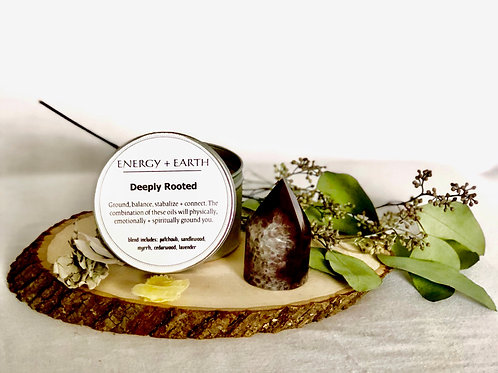 Deeply Rooted Meditation Candle