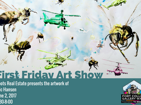 Art Show at Roots!—Friday, June 2nd