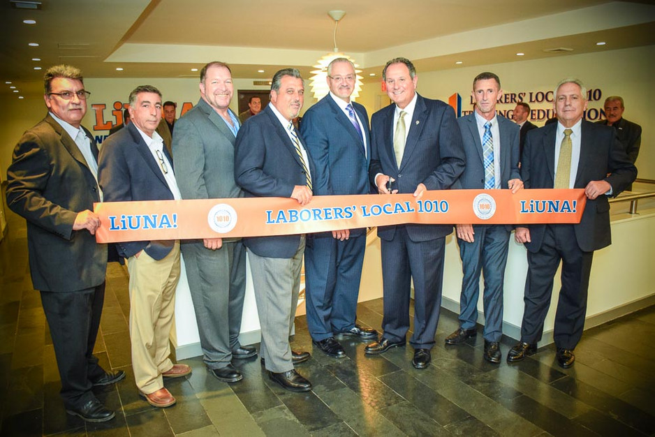 Laborers' Local 1010 Ribbon Cutting
