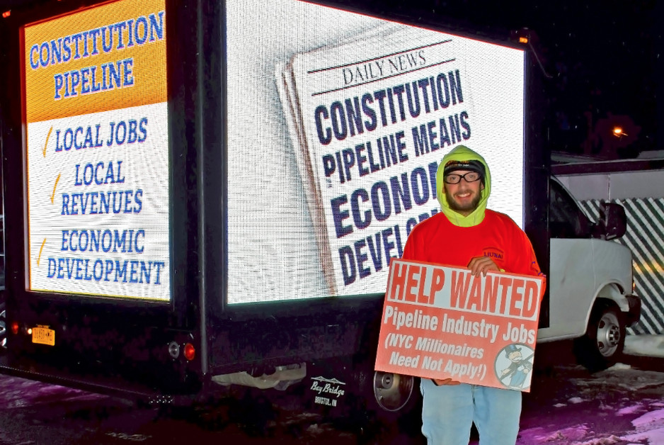 NYSLOF Participates in Constitution Pipeline Hearings