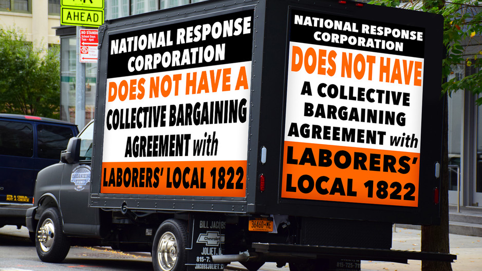 Laborers Urge Environmental Company in Massena To Employ Local Union Workers