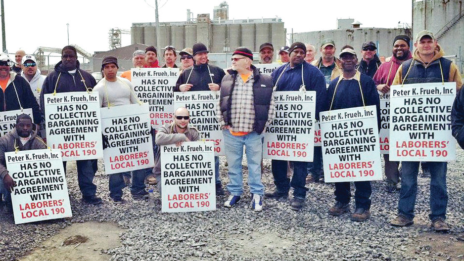 NYSLOF & Local 190 Picket at the Port and Win