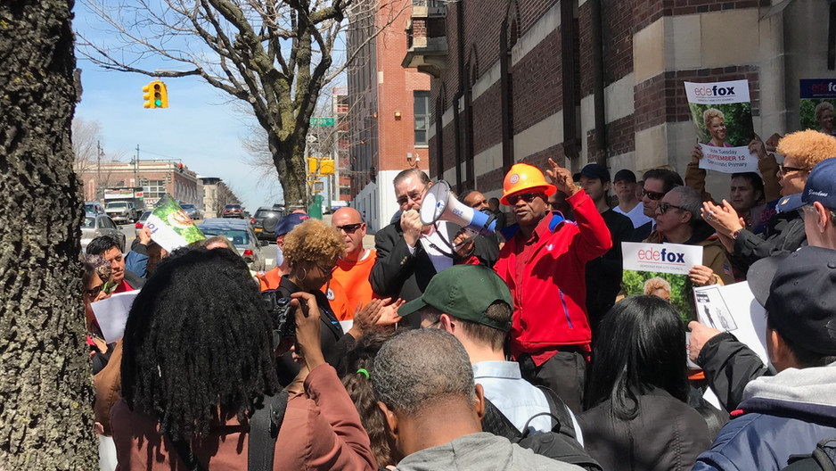 Laborers Say NO to Bedford-Union Armory Deal