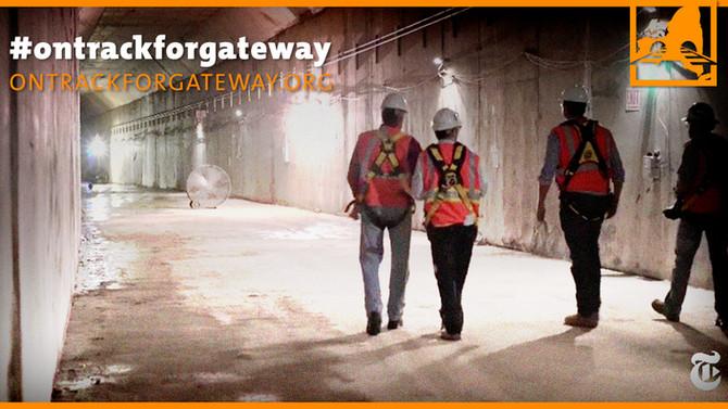 Tour Amtrak's Future Tunnels Beneath Hudson Yards