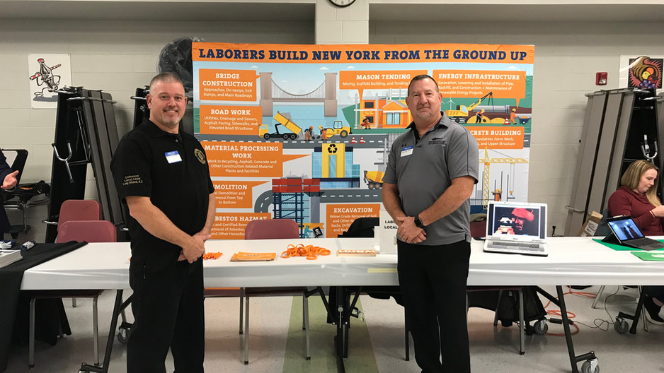 Local 1298 Participates in Long Island Career Fair